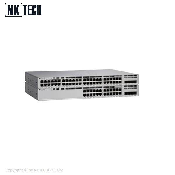 سوئیچ شبکه 48 پورت سیسکو C9200-48T-E