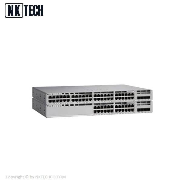 سوئیچ شبکه سیسکو مدل C9200L-24P-4X-A