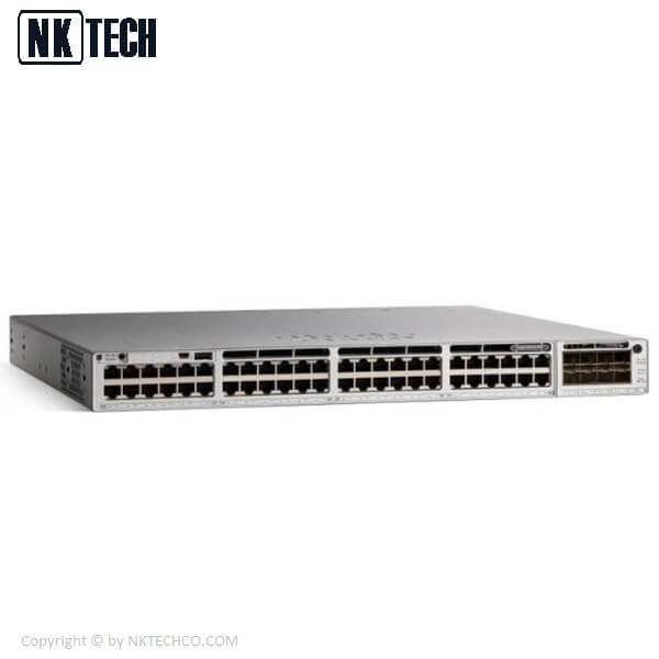 سوئیچ شبکه 48 پورت سیسکو C9300-48T-A