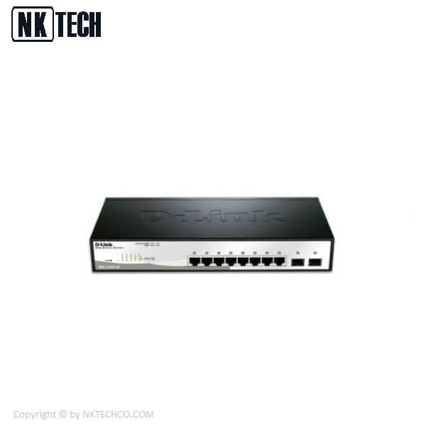 سوئیچ شبکه دی لینک مدل DGS 1210 10