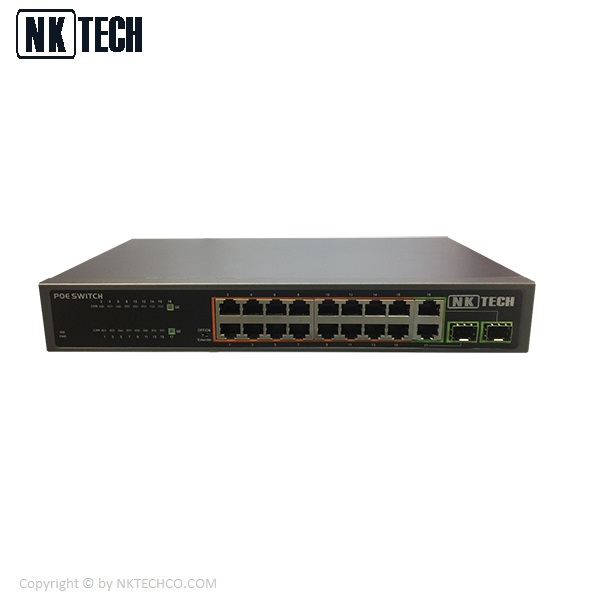 سوئیچ شبکه انکاتک POE مدل PSE1816GSR