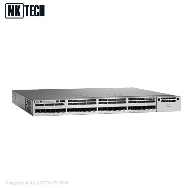 سوئیچ شبکه سیسکو مدل WS-C3850-48P-S